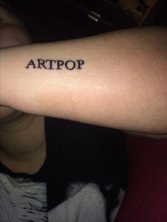 Lady Gaga ARTPOP Tattoo
