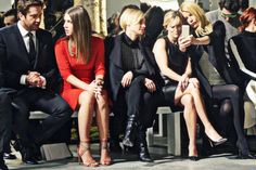 Gerard Butler, Adele Exarchopoulus, Diane Kruger, Reese Witherspoon & Gwyneth Paltrow at Boss Women fashion show. Mbfsh2014