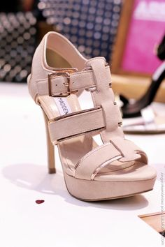 Steve Madden Spring Summer 2013- Nude heels for the ceremony, sandals for the reception??