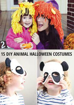 15 Easy DIY Animal Halloween Costumes For Kids Animal Halloween Costumes, Dog Costumes, Costume Ideas, Fall Halloween, Halloween Party, Halloween Stuff, Kids Dress Up, Play Dress, Easy Diys For Kids