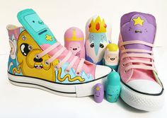 Adventure time shoes!!