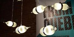 That's very beautiful bipolar lamp. You can use wine bottle to make it..Lamp come from LED light
