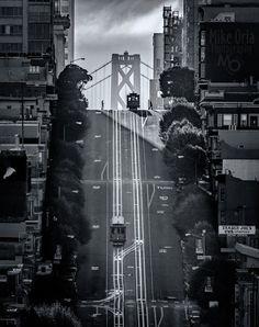 Good Morning San Francisco. Nob Hill #sanfrancisco #sf #bayarea #alwayssf #goldengatebridge #goldengate #alcatraz #california