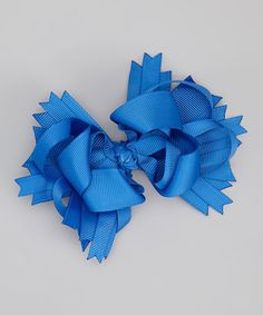 Take a look at this Royal Princess Bow Clip by Too Too Cute on #zulily today!