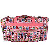 """Discount Brown and Pink Vintage Damask 16"""" Duffle Bag #T16-632 - Wholesale Accessory Market"""