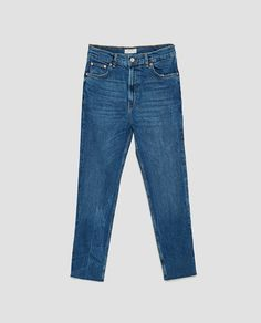 Image 8 of THE VINTAGE HIGH WAIST JEANS IN PACIFIC BLUE from Zara