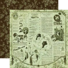 Graphic 45 - Le Romantique Collection - 12 x 12 Double Sided Paper - Daydreams at Scrapbook.com $0.99