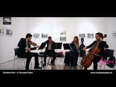A Thousand Years NOCHE MUSEOS CARTAGENA STRING QUARTET Christina Perri c...
