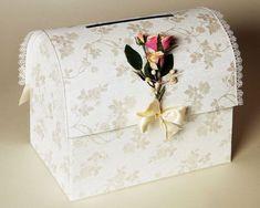 Готовый свадебный сундук для денег своими руками