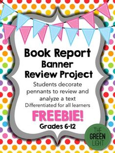 Any book  Student and Teacher pay teachers on Pinterest Elementary School Book Report Examples to write a book report  Elementary  School Book Report Examples to write a book report