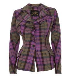 943bd608d9 Alcoholic Fitted Jacked Pink Tartan Vivienne Westwood, Tartan Clothing,  Tartan Pattern, Designing Women