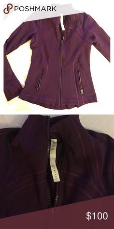 Lululemon Define jacket Worn twice. Define jacket. Fitted jacket. Lululemon. Price is firm lululemon athletica Jackets & Coats Utility Jackets