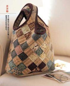 112 popular Patchwork bolsos y bolsas libro de por CollectingLife