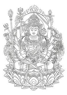 Tibet Art, Buddhism, Taiwan, Spirituality, Traditional, Tattoo Ideas, Painting, Costume Ideas, Costumes