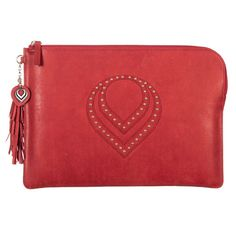:: EBLOUIR ::Classic clutch(Red) #clutch, #eblouir, #leather, #pouch, #minibag, #handbag  #leather, #style, #accessories, #best, #protective, #design, #mobile, #life