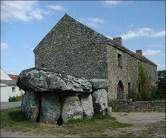 '' Plouharnel '' Morbihan .. Le Dolmen de Crucuno