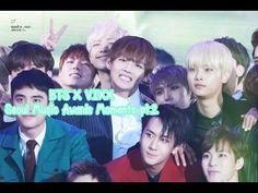 aw this is like exo + vixx + bts where should i put it Rapmon, Bts Bangtan Boy, Seoul Music Awards 2016, Vixx Ken, Bts 2015, Bts Reactions, Bts Video, Kihyun, Btob