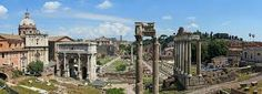The Roman Forum, another name is Forum Magnum