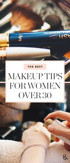 These are our favorite ways to lift and brighten our features. Get all the best makeup tips for women over 30 here. #womenover30 #makeuptips #beauty #beautytips