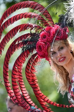 Royal Ascot 2015 Epsom Derby, Royal Ascot Hats, Were All Mad Here, Love Hat, Top Hats, Jewelry, Fascinators, Royals, Fashion