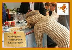 Creative Wine fun with corks !