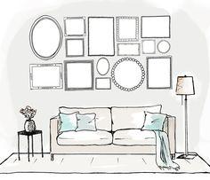 Você adora quadros, mas tem dúvidas de como compor com todos juntos? A Revista Westwing te ajuda a montar sua própria galeria em casa. Confira!