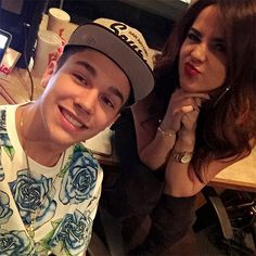 Austin Mahone and Becky G dating!