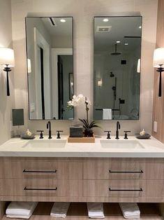 Large Modern Wall floating Mirror Bathroom Vanity Decorative Industrial Rectangle Steel Framed Frameless Metal Black White Steel Finish