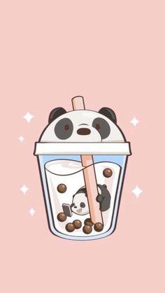 Teen Wallpaper, Cute Galaxy Wallpaper, Cute Panda Wallpaper, Wallpaper Iphone Cute, Disney Wallpaper, Cute Animal Drawings Kawaii, Cute Little Drawings, Cute Cartoon Drawings, We Bare Bears Wallpapers