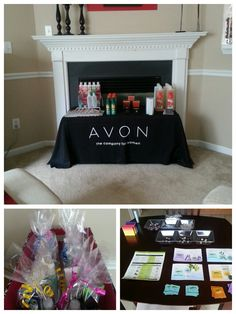 My first Avon party! Great time! So many products and samples to share!