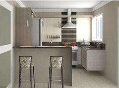 Dúvida da Leitora Helena! Decoração da Cozinha Pequena com Mesa e do Banheiro!