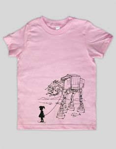 My Star Wars AT-AT Pet - Toddler / Youth American Apparel T-shirt ( Star Wars t shirt )-It does come in a tshirt! Hurrah!
