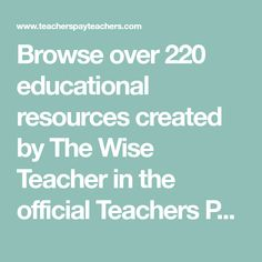 Browse over 220 educational resources created by The Wise Teacher in the official Teachers Pay Teachers store. Montessori, Classroom Community, Character Education, Art Education, Reading Strategies, School Counseling, Elementary Counseling, Social Skills, Social Work