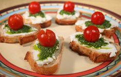 How to Make a Pesto Baguette Appetizer