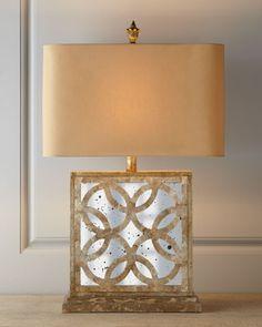 """Montecito"" Mirrored Table Lamp at Neiman Marcus."