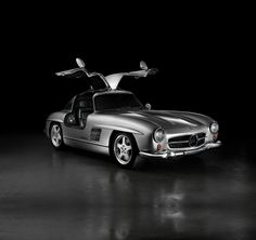 Mercedes-Benz Pictures and Sounds: The legendary and iconic Mercedes-Benz was first introduced the motoring public in 1954 as a two-seat luxury sports coupe with distinctive and stylish gull-wing doors. Later down the road, the Mercedes Benz 300 Sl, Cheap Used Cars, Gull, Luxury Cars, Volkswagen, Automobile, Public, Doors, Stylish