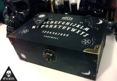 Unique Ouija Board Planchatte Jewellery Box Magic by Occultix