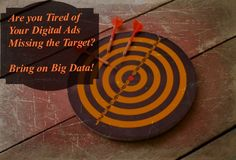 Target Digital Ads with Big Data  by Randy Hilarski    You probably have heard the term Big Data but have you ever tried to implement it into your business?  #BigData #Retargeting #PPC #Advertising #Nielsen #BIZO #IAB #AdWords #BingAds #EdgeAdExchange