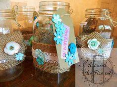"""I added """"Wedding Mason jars - Around the Fire pit"""" to an #inlinkz linkup!http://www.aroundthefirepit.com/wedding-mason-jars/ """