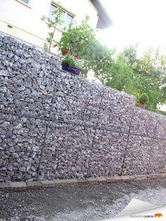 Tendance gabion petit mur de s paration gabion - Mur soutenement gabion ...