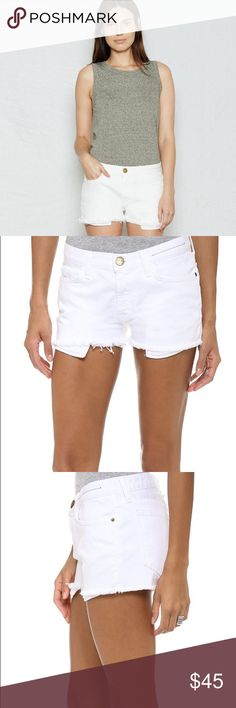 Current/Elliott Boyfriend Shorts Never worn! No tags attached though. I think they run at least one size large. Current/Elliott Shorts Jean Shorts