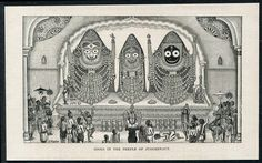 Here is a compilation of some very old photos and paintings of Jagannatha Puri, in Orissa. Many of these photos were taken by William Henry Cornish around Book Cover Design, Book Design, Rare Photos, Old Photos, Engraving Printing, Krishna Art, National Museum, Deities, Mythology