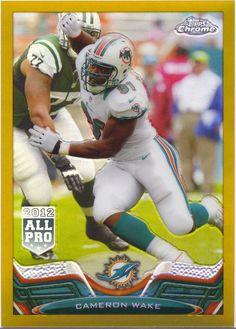 CWake13ChrmGoldRef 50. Bruce Lebitz · Miami dolphins 1e1b786ef