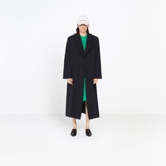 BALENCIAGA GODFATHER COAT | Light loose masculine coat