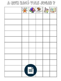 graella racons School, Note Cards, Tags, Classroom, Social Networks, Activities, Blue Prints