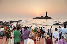 Vivakanda eThiruvalluvar, Tamil Nadu #India con @C_Journeys_it