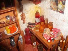 пекарня Liquor Cabinet, Miniatures, Home Decor, Decoration Home, Room Decor, Home Interior Design, Minis, Home Decoration, Interior Design