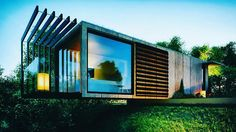 Container House - Container House - cool shipping container homes Who Else Wants Simple Step-By-Step Plans To Design And Build A Container Home From Scratch? Who Else Wants Simple Step-By-Step Plans To Design And Build A Container Home From Scratch? Converted Shipping Containers, Shipping Container Conversions, Shipping Container Office, Shipping Container Home Designs, Building A Container Home, Container Buildings, Container Architecture, Container House Plans, Architecture Design