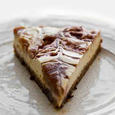 PB&J Swirl Vegan Cheesecake