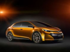 Concept for the new Toyota Corolla Furia!
